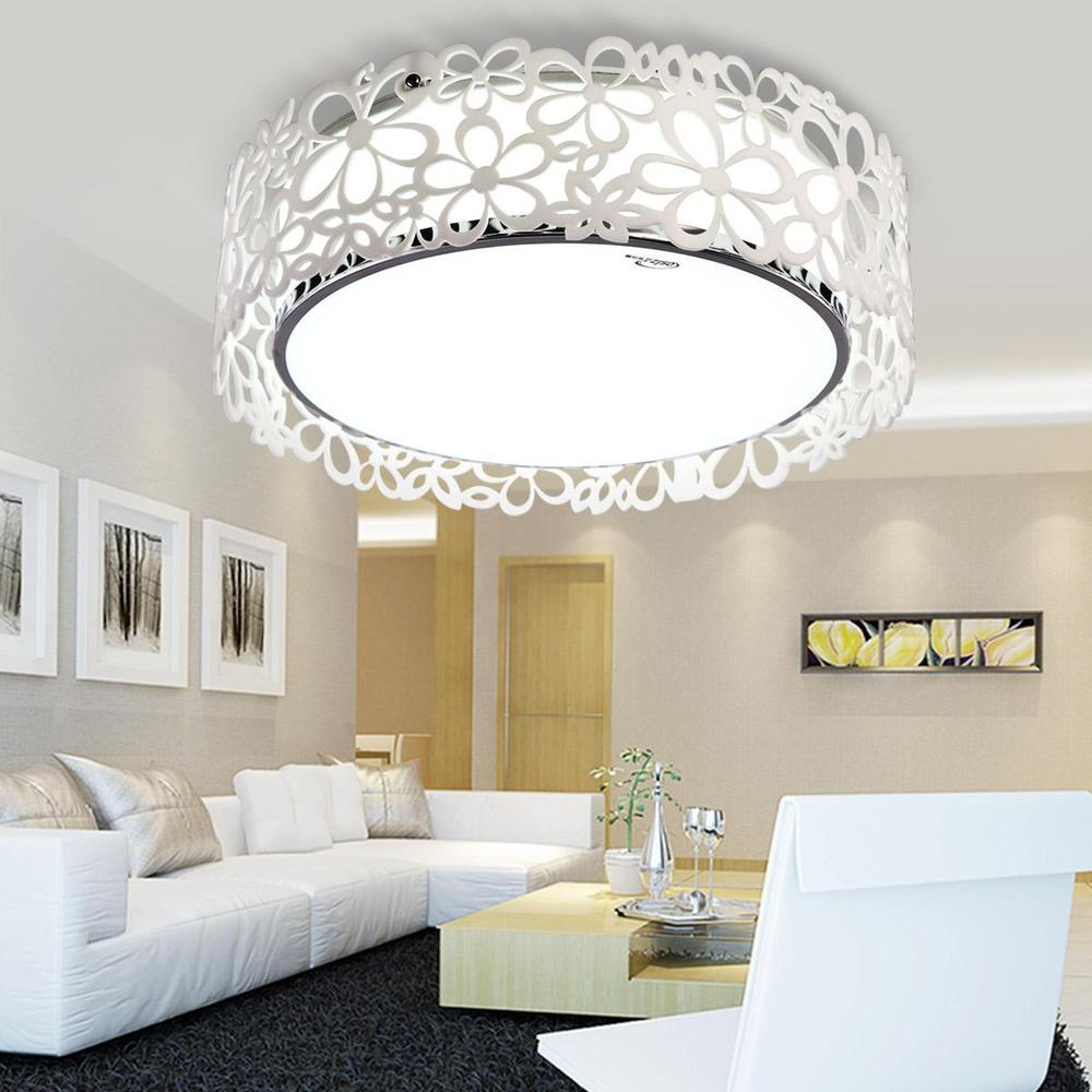 Illuminazione a soffitto led - Luci soggiorno moderno ...