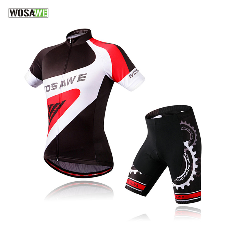 WOSAWE Mens Pro Cycling Jerseys Ciclismo/Breathable Bicycle Clothing/Quick-Dry GEL Pad Mountain Bike Shorts<br><br>Aliexpress