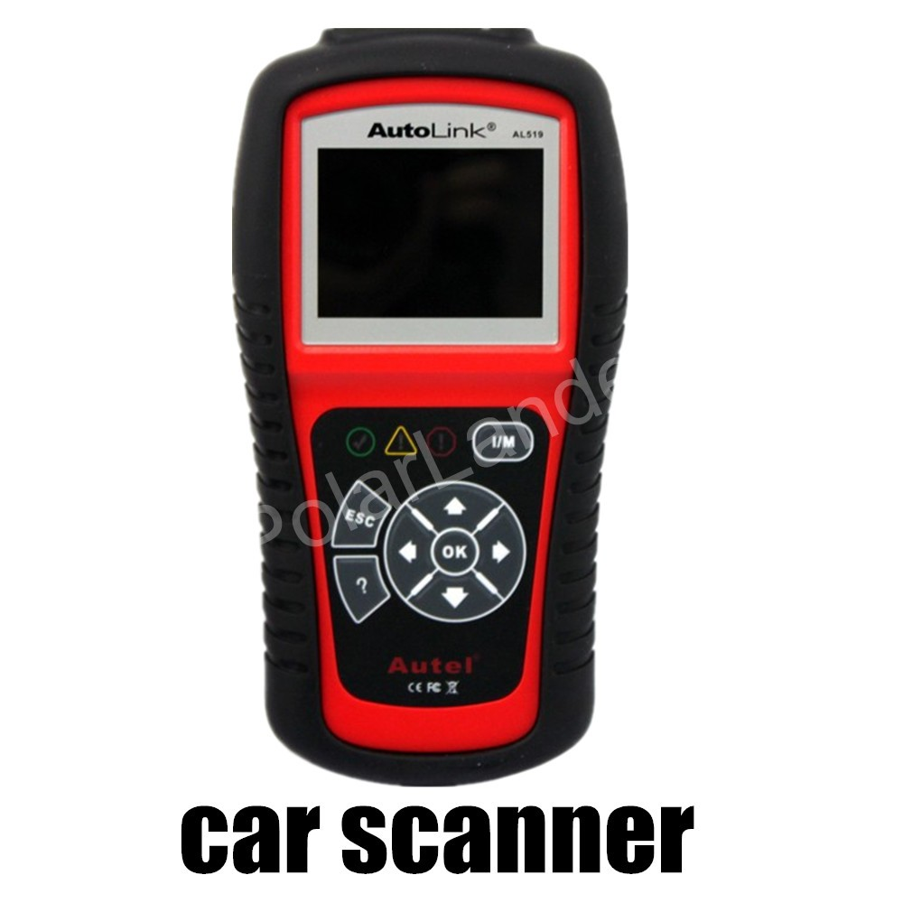 Multilingual Diagnostic Tools Original Autel AutoLink AL519 OBD-II And CAN Code Reader Tool Scanner car auto(China (Mainland))