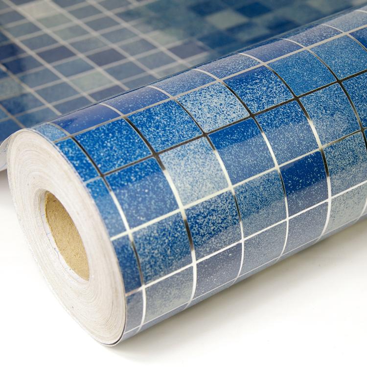 kitchen/Bathroom prevent oil Mosaic sticker,Prevent lampblack, self-adhesion wallpaper, resistance aluminum foil wall paper(China (Mainland))