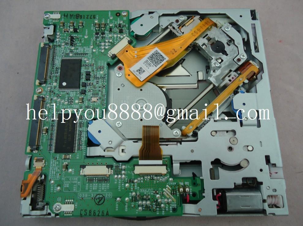 Brand new UCZ CD/DVD loader sat nav mechanism 039-3163-20 for Ni-san Infiniti G37 car satellite radio navigation HDD 2pcs/lot(China (Mainland))