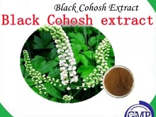 1 Pack Black Cohosh extract 2.5% Triterpene 250mg x 300pcs free shipping(China (Mainland))