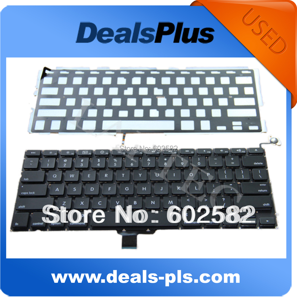 "LAPTOP KEYBOARD FITS MacBook Pro 13"" Unibody A1278 US Keyboard WITH BACKLIT BACKLIGHT 2009 2010 2011(China (Mainland))"