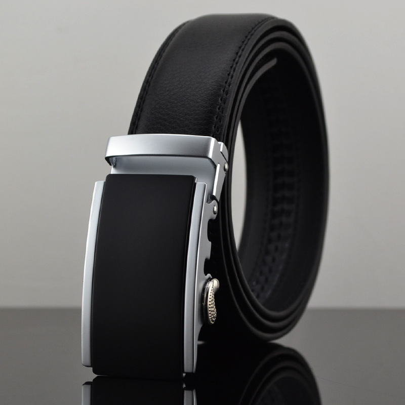 Automatic Buckle New 2015 Brand Designer Mens Belts Genuine Leather Man Belt High Quality Men's Belts Luxury For Men 110-130cm(China (Mainland))