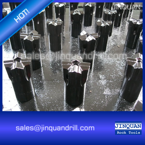 Cross rock drill bit for hard rock drilling(China (Mainland))