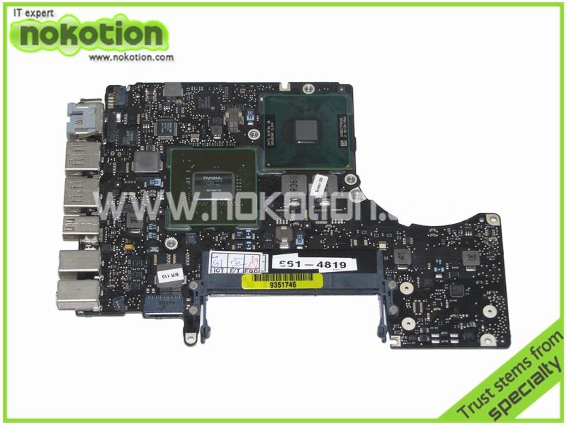 820-2327-A Laptop Motherboard For Apple MacBook 13 A1278 2008 Logic Board Intel P8600 CPU Onboard DDR3 Mainboard