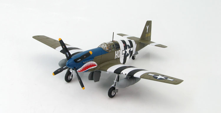 HM 1/48 HA8504 blue nose asshole World War II P-51B Mustang model Favorites Model(China (Mainland))