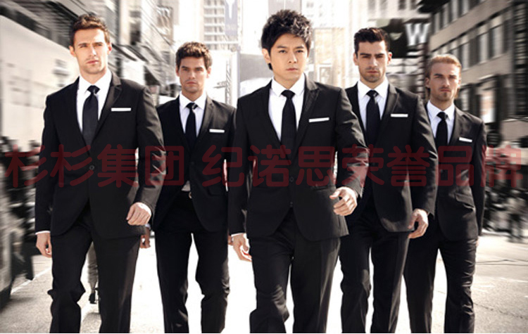5-Free Shipping New 2015 man suit classic Fashion grooms man suits! Men's Blazer Business Slim Clothing Suit And Pants