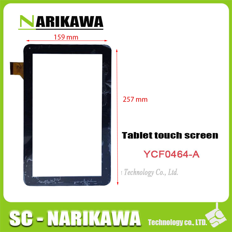 "100% original new capacitive Touchscreen (10,1 "") YCF0464-A for TURBOPAD 1014 Digma ids10 digitizer(China (Mainland))"