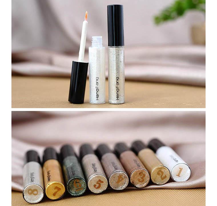 1PCS Free Shipping Women Shiny Long Lasting Eye Liner Waterproof Makeups Eyeliner Liquid Beauty Cosmetic Tool Gift For Girls