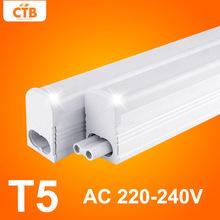 Led tubo di luce t5 220 v 240 v 30 cm 6 w 60 cm 10 w  Led tubo fluorescente t5 lampade da parete bianco freddo t5 lampadina  Luce(China (Mainland))