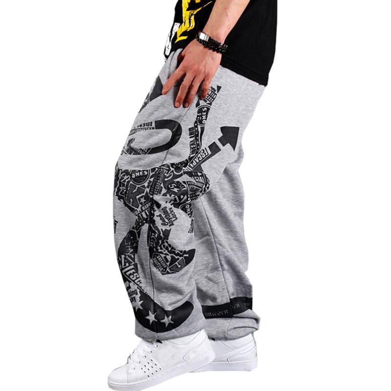 New Brand 2016 Men Skateboard Trousers Casual Loose Sweatpants Sport Jogging Men Training Dance Joggers Pants Plus Size S-3XL 2(China (Mainland))