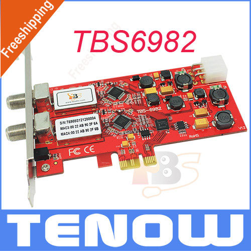 TBS6982 DVB-S2 Dual Tuner TV Card Receiver,Watching and Recording Free to Air Satellite World CUP Match on PC(China (Mainland))