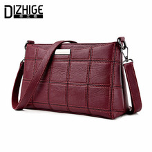 Buy DIZHIGE Brand 2017 Fashion Thread Crossbody Bags Plaid PU Leather Bags Women Handbags Designer Shoulder Bags Ladies Sac Spring for $18.89 in AliExpress store