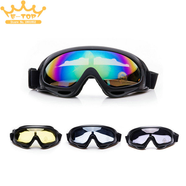 Outdoor Cycling & Riding Windproof Glasses Motorcycle Dustproof X400 Goggles CS Military Addictive Frame Eye Glasses(China (Mainland))