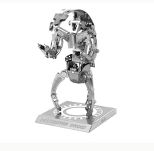 Free Shipping 2015 Hot Sale puzzle toys Star Wars Model Building Kits 3D Scale Models DIY Metallic Nano Puzzle Toys pazzle(China (Mainland))