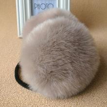 New Winter Warm Faux Rabbit Fur Earmuff Girls Earflap Women Ear Muff(China (Mainland))