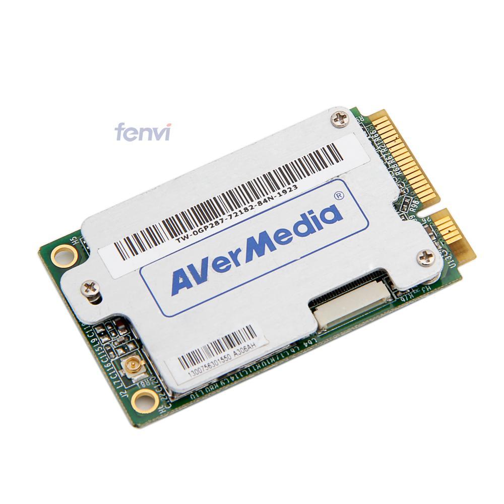 Mini Pci-e TV FM Tuner Card DVB T Hybird Mini PCI-E TV DVB-T Analog FM Card Laptop UMPC(China (Mainland))