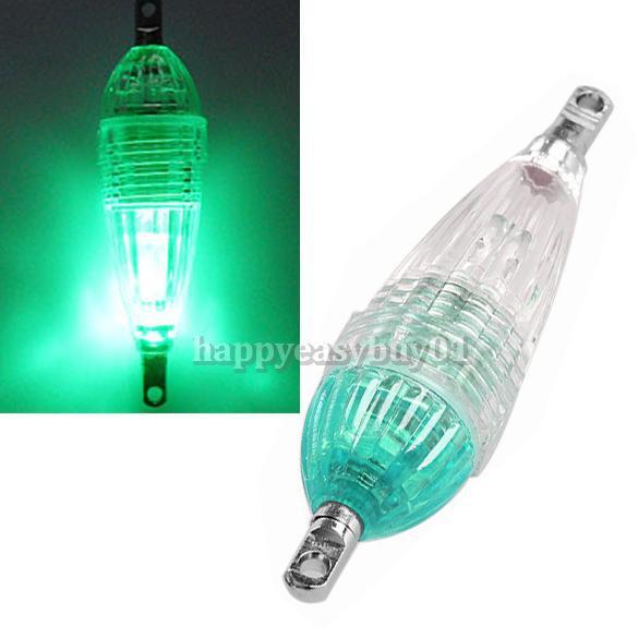 Mini LED Profonde Baisse Sous-Marine De Pêche Leurre Lumière Squid Lure Poisson Lumineux Vert Sous-Marine Leurre Lumière BHU2(China (Mainland))