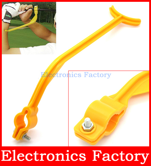 New Swingyde Golf Practice Swing Educational Trainer Guide Gesture Alignment Training Wrist Correct Aid Plane Tool Club(China (Mainland))