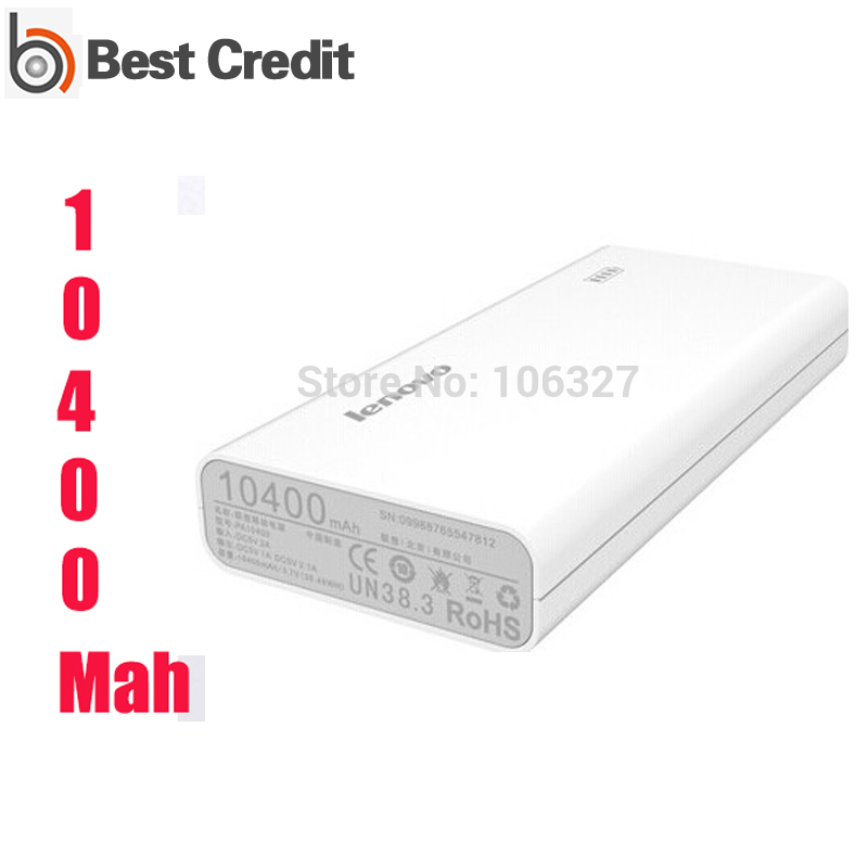 original lenovo power bank 10400mah xiaoxin portable powerbank Charger Jiayu xiaomi phones/Kate