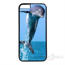 For iphone 4/4s 5/5s 5c SE 6/6s plus ipod touch 4/5/6 back skins mobile cellphone cases cover Dolphins Ocean Wild Life