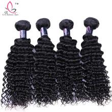 Grade 7A Eurasian Curly Virgin Hair 4 Bundles Unprocessed Rosa Hair Products Eurasian Kinky Curly Virgin Hair Weave Bundles 1B