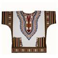 Plus SizeXXL XXXL Dashiki Dress 100 Cotton African Traditional Print White Dashiki Clothing for Men Women