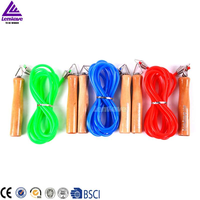 Women's 3 Color And 3 Meters Long Single Skip Rope & PVC Material Jump Rope ,China Top One brand Lenawave Rope(China (Mainland))