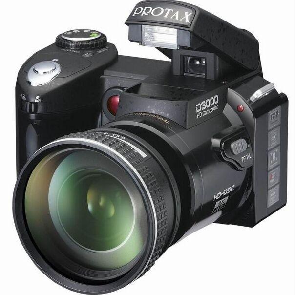 "2015 HD Camera D3000 5MP CMOS HD Digital SLR Camera Photos 3.0 ""LTPS Screen +16 Times Telephoto Lens cameras Wide Angle Lens(China (Mainland))"