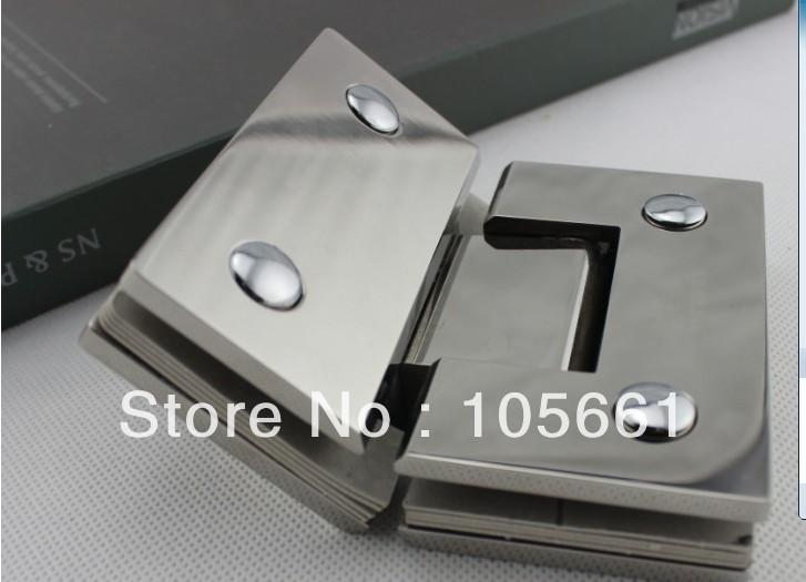 Гаджет  135 degree light stainless steel doors brass glass hinge MODEL -135  (degree ) None Строительство и Недвижимость