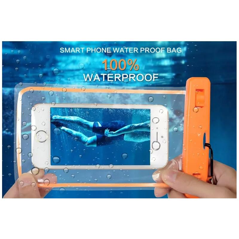 PVC Waterproof Phone Bag Underwater Luminous back cover For Huawei P7 P9 P8 lite MATE7 8 S horo 7 4 5 6 5X 4A Y625 Y6 Y5 II(China (Mainland))