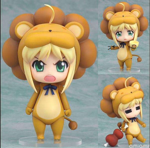 Fate Stay Night Nendoroid Saber Lion 50# Saber Lion PVC Action Figure Fate Stay Night Saber Lion Collectible Model Toy