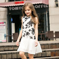 2016 Summer Elegant Kid Girls Cute Baby Girl Frock Design Dresses for age 5 6 7