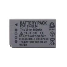 850mAh EN-EL24 EN EL24 Camera Battery For NIKON 1 J5 Camera