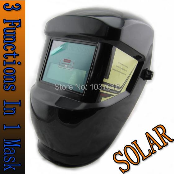 Welding accessories Inside stepless control solar auto darkening TIG MIG MMA MAG electric welding mask/helmets/welder cap(China (Mainland))