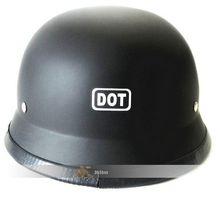 Free Shipping CHROME MIRROR German military style helmet DOT open face Motorcycle helmet Chopper Cruiser helmets(China (Mainland))