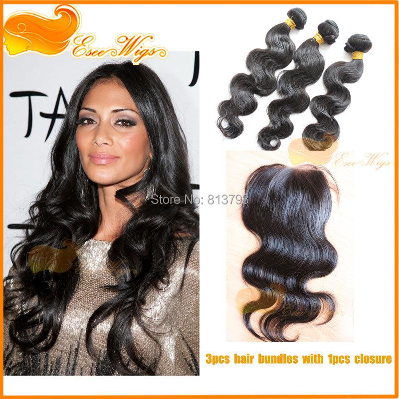 Esee 5 3 hair bundle with closure