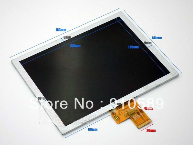 Song beauty G6 dual-core version LCD screen eight inches in IPS display screen 32001014-02