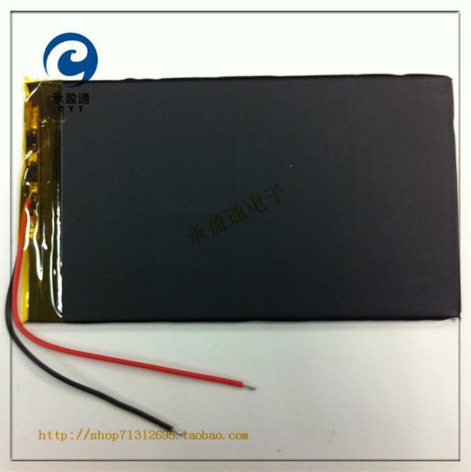 3.7V lithium polymer battery 2865113 2350mah mobile power navigation PSP Tablet PC(China (Mainland))