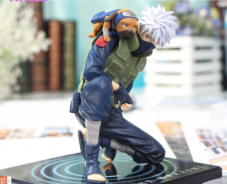 20 CM PVC Action Figure  Naruto kakashi Garage Kits Collection Model Toy gift w5752<br><br>Aliexpress