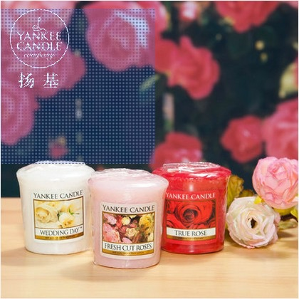 yankee candle scented candles decorative for birthday day wedding decoration bougies