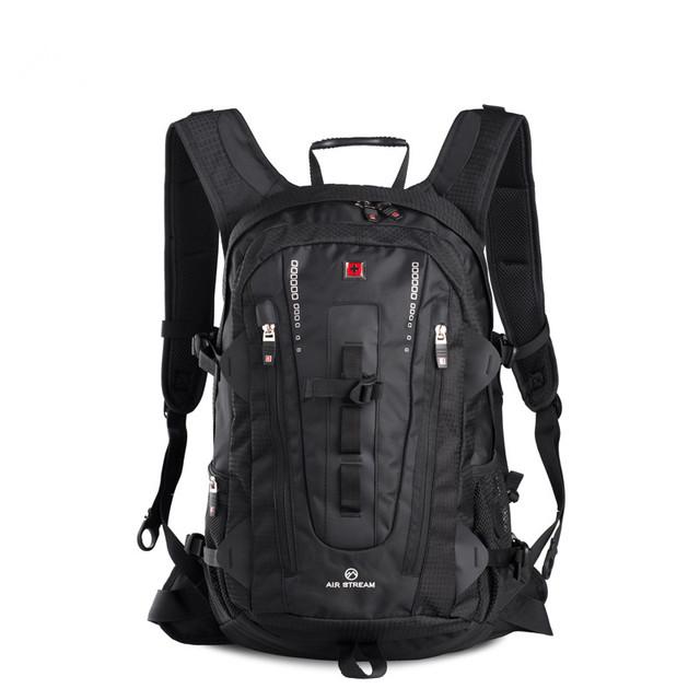 Swisswin ноутбук рюкзак для 15.6 дюймов ноутбук швейцарский многофункциональный Открытый ...