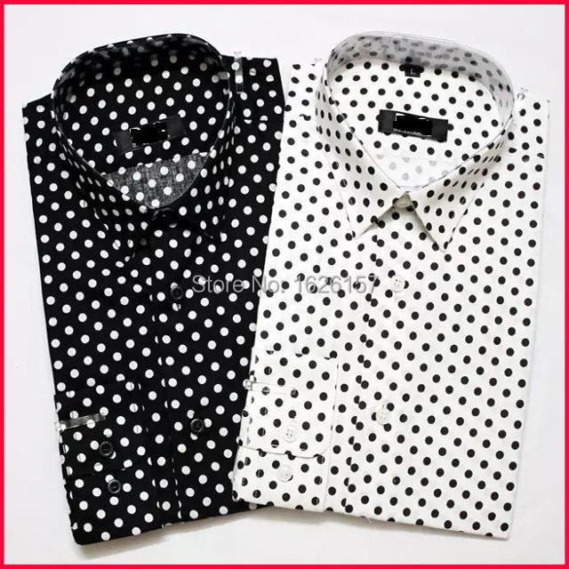 Ben Sherman Grey Dot Tailored Slim Fit Dress Shirt 25 Liked On Polyvore Featuring Men S Fashion Clothing Shirts