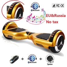 "Buy 6.5"" electric scooter Led Lights Self balancing scooter skateboard hoverboard bluetooth oxboard smart balance wheel scooter for $89.98 in AliExpress store"