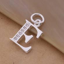 Thư A-S Miễn Phí Vận Chuyển mạ bạc Vòng Cổ, tem 925 thời trang trang sức bạc Thời Trang Fashion Pendant/XYLQNNAG XYLQNNAG(China)