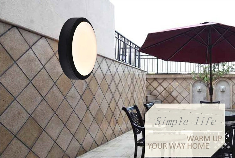 5w 140x65mm LED Wall Lamp Mosquito Dust and European Outdoor Waterproof IP54 Ceiling Lamp Garden Led Wall Lamp H6(China (Mainland))