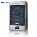 TIVDIO RFID Access Control 125KHZ Touch Keypad Door Access Control System with KDL Metal Case Shell