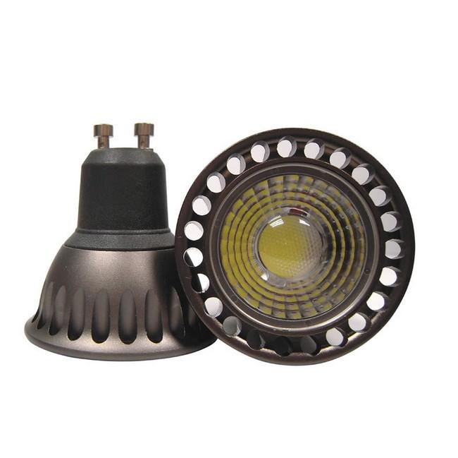 30pcs High power AC85-265V 5W 10W 12W GU10 MR16 COB Led Lamps Light 1000Lumen Led Spotlight Cool White/Warm white Led Lighting(China (Mainland))