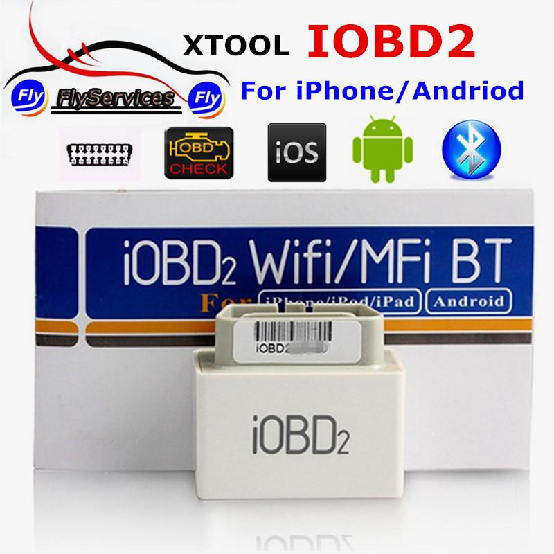 New Desgin Original iOBD MINI Bluetooth OBD2 Interface Work On Android&IOS System XTool iOBD2 MINI Better Than ELM327 Fast Ship(China (Mainland))